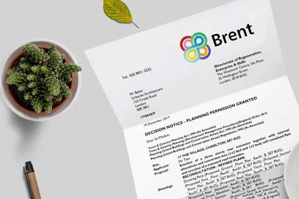 planning application for Brent