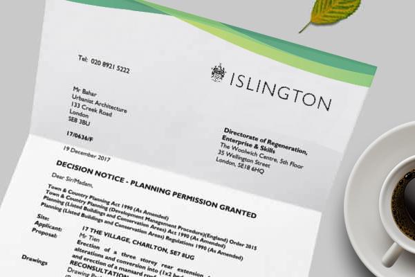 The Islington Planning Permission Portal